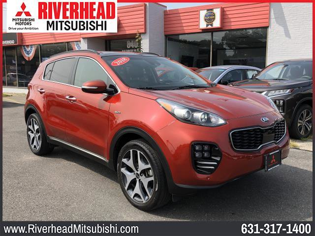 2018 Kia Sportage SX Turbo SX Turbo AWD Intercooled Turbo Regular Unleaded I-4 2.0 L/122 [13]