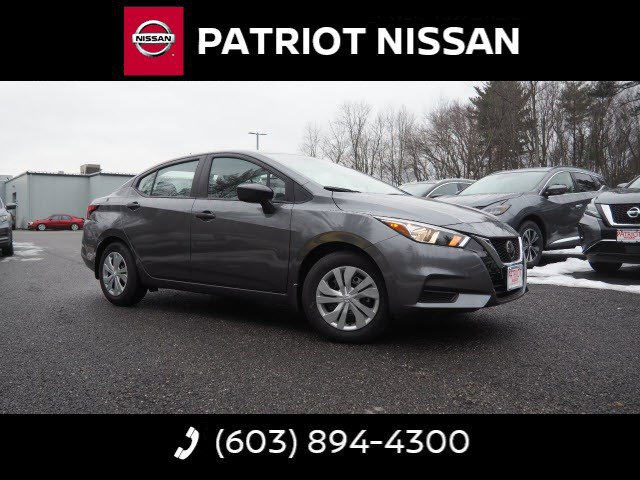 New 2020 Nissan Versa in Salem, NH