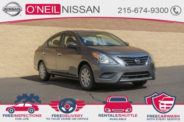 2019 Nissan Versa Sedan SV SV CVT Regular Unleaded I-4 1.6 L/98 [7]