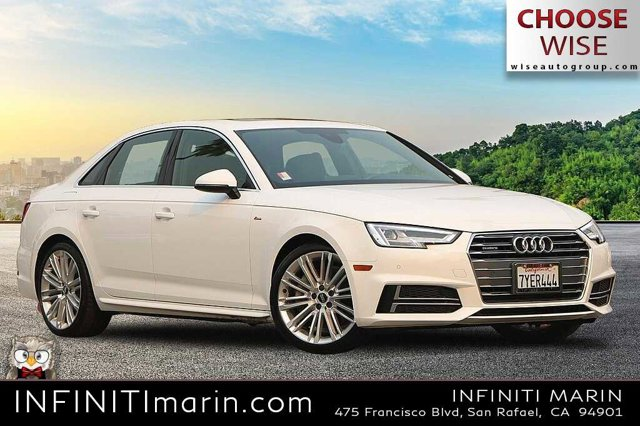 2017 AUDI A4 Premium Plus 2.0 TFSI Auto Premium Plus quattro AWD Intercooled Turbo Premium Unleaded I-4 2.0 L/121 [4]