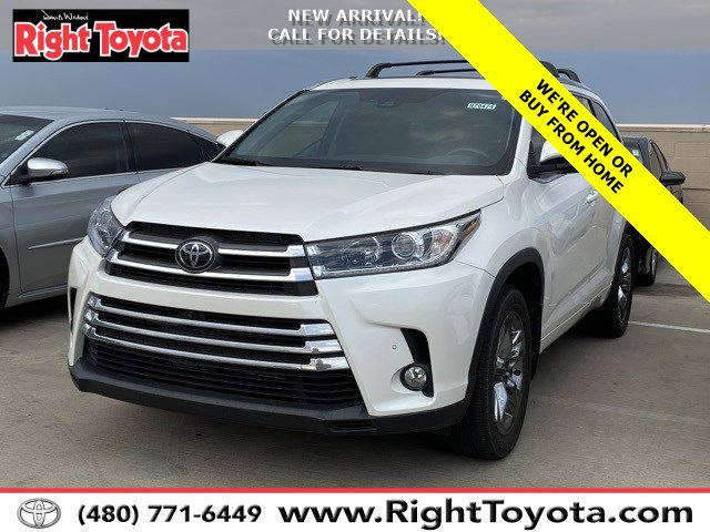 2018 Toyota Highlander Limited Platinum Limited Platinum V6 AWD Regular Unleaded V-6 3.5 L/211 [6]