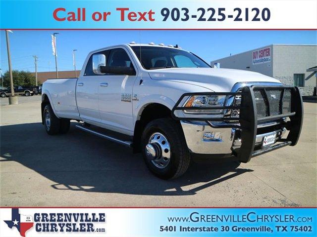 Used 2018 Ram 3500 in Greenville, TX