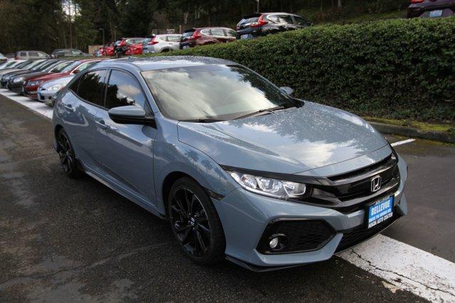 Used 2017 Honda Civic Hatchback in Bellevue, WA