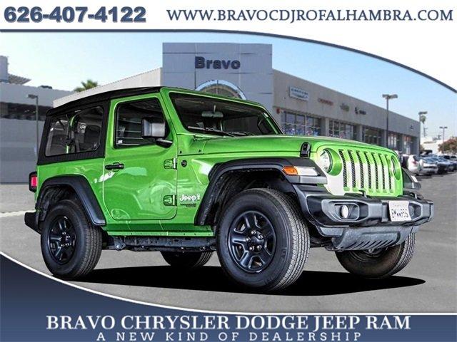 2019 Jeep Wrangler Sport Sport 4x4 Regular Unleaded V-6 3.6 L/220 [3]