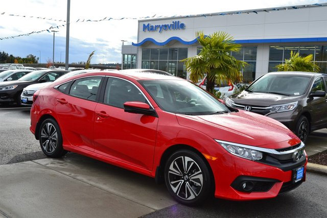 New 2017 Honda Civic Sedan EX-T CVT w-Honda Sensing
