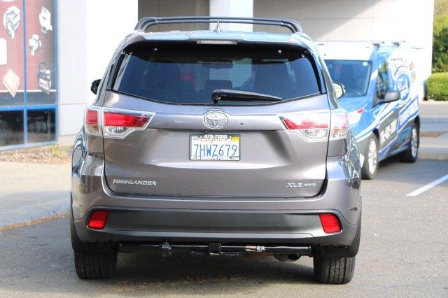 Used 2015 Toyota Highlander AWD 4dr V6 XLE