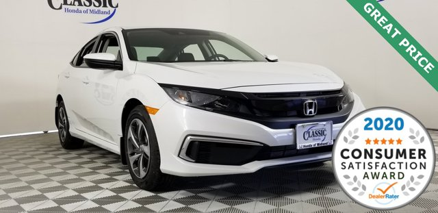 New 2020 Honda Civic Sedan in Midland, TX
