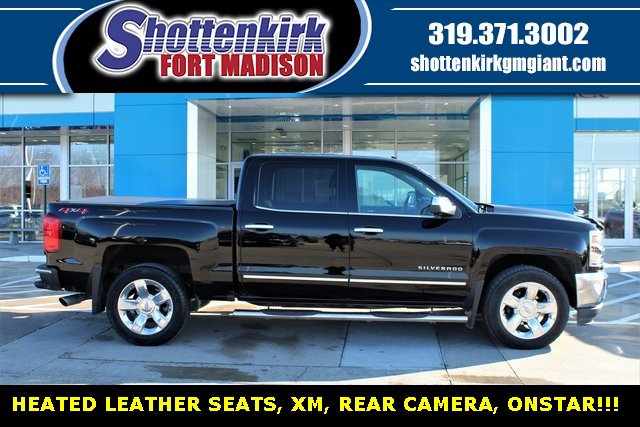 Used 2018 Chevrolet Silverado 1500 in Fort Madison, IA