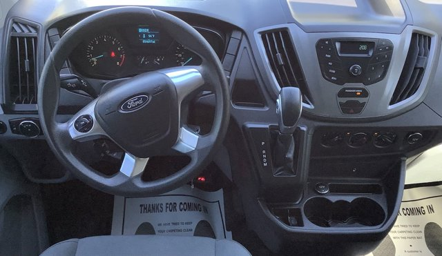 Used 2016 Ford Transit Cargo Van T-250 130 Low Rf 9000 GVWR Swing-Out RH Dr