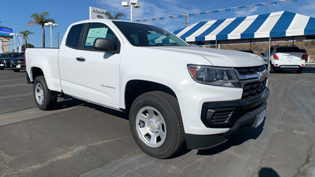 2021 Chevrolet Colorado 2WD Work Truck 2WD Ext Cab 128″ Work Truck Gas V6 3.6L/ [1]