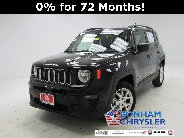 New 2019 Jeep Renegade in Bonham, TX