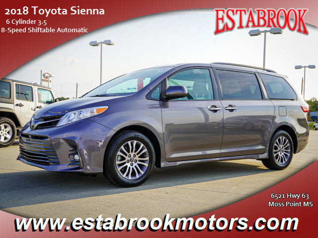 Used 2018 Toyota Sienna in Moss Point, MS