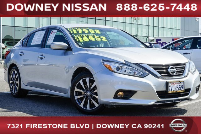 2017 Nissan Altima 2.5 S  Regular Unleaded I-4 2.5 L/152 [1]