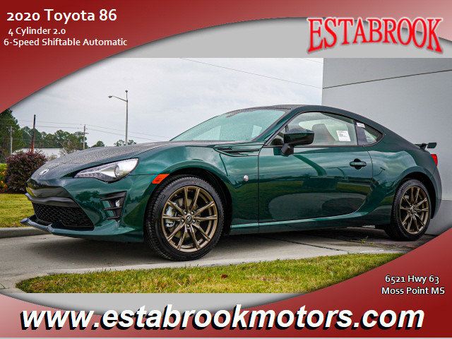 New 2020 Toyota 86 in Moss Point, MS