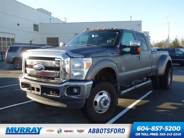 2011 Ford Super Duty F-350 DRW XLT CCab DRW 4WD  Turbocharged Diesel V8 6.7L/406 [1]