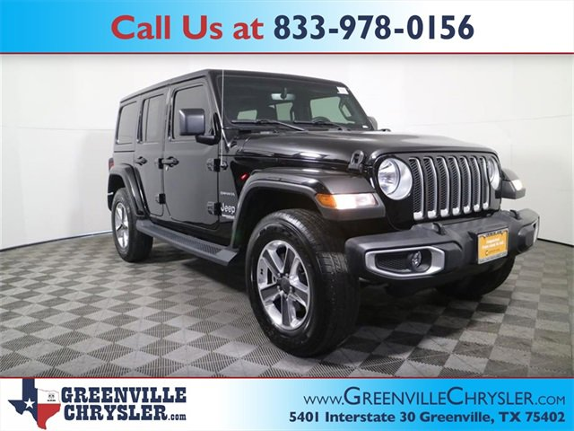 Used 2018 Jeep Wrangler Unlimited in Greenville, TX