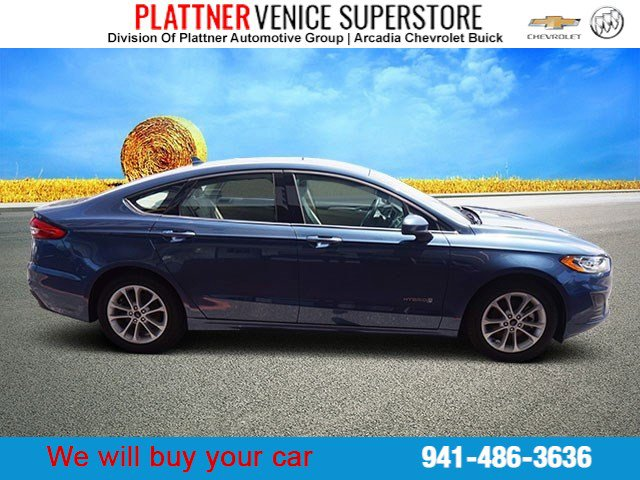 Used 2019 Ford Fusion Hybrid in Venice, FL