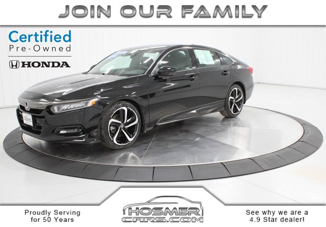 Used 2018 Honda Accord Sedan in Mason City, IA