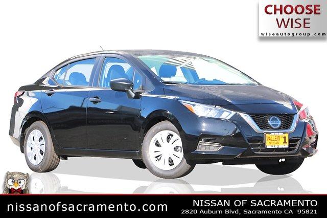 2020 Nissan Versa S S CVT Regular Unleaded I-4 1.6 L/98 [10]