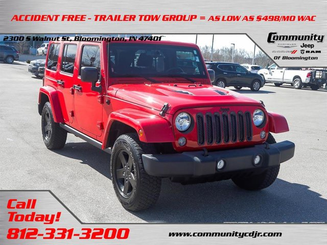 Used 2015 Jeep Wrangler Unlimited in Bloomington, IN