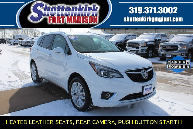 Used 2019 Buick Envision in Fort Madison, IA