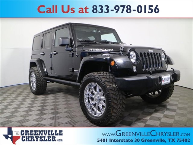 Used 2014 Jeep Wrangler Unlimited in Greenville, TX
