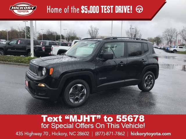 Used 2018 Jeep Renegade in Hickory, NC