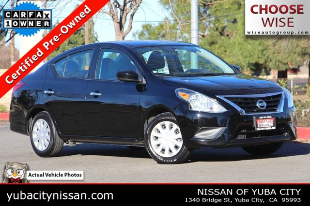 2019 Nissan Versa Sedan SV SV CVT Regular Unleaded I-4 1.6 L/98 [10]
