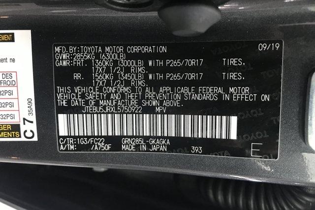 Used 2020 Toyota 4Runner TRD Off Road