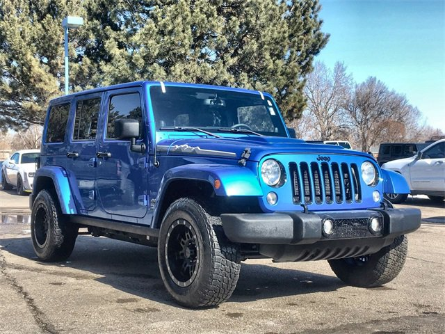 Used 2014 Jeep Wrangler Unlimited in Fort Collins, CO