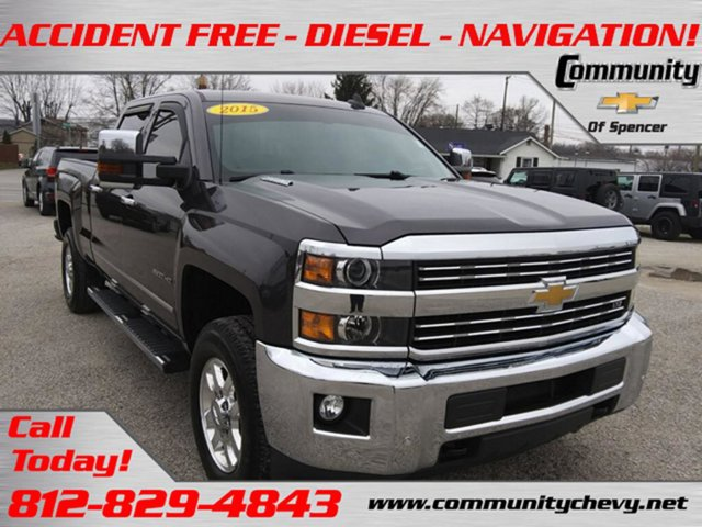 Used 2015 Chevrolet Silverado 3500HD Built After Aug 14 in Bloomington, IN