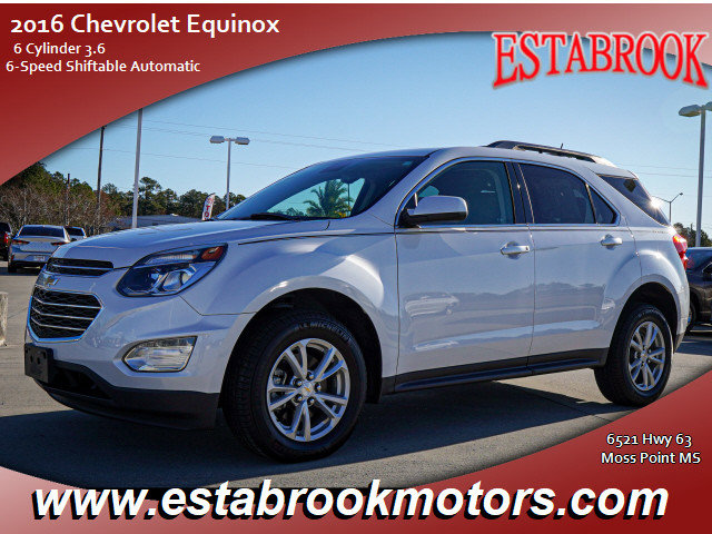 Used 2016 Chevrolet Equinox in Moss Point, MS