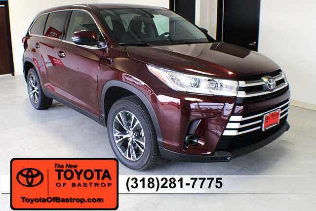 New 2019 Toyota Highlander in Bastrop, LA
