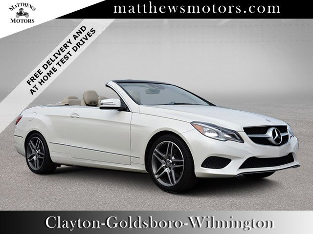 Used 2014 Mercedes-Benz E 350 Sport Cabriolet w/ Nav in Clayton , NC