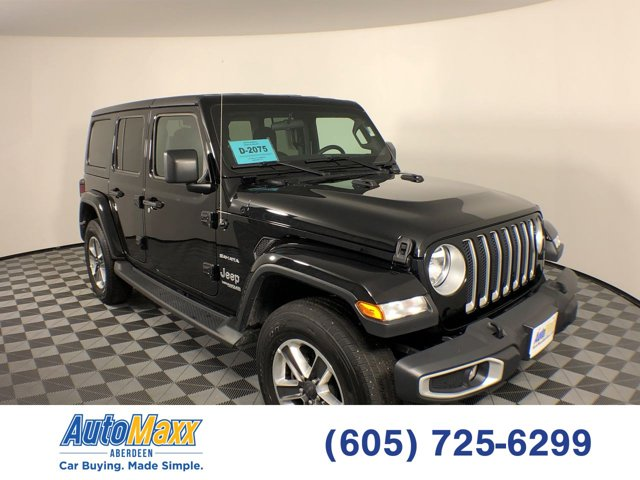 Used 2019 Jeep Wrangler Unlimited in Aberdeen, SD