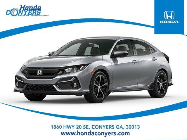 2021 Honda Civic Hatchback Sport Sport CVT Intercooled Turbo Premium Unleaded I-4 1.5 L/91 [13]