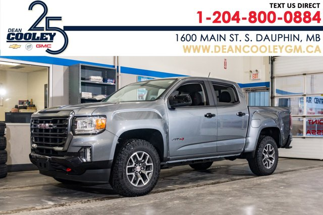 2021 GMC Canyon 4WD AT4 w/Leather 4WD Crew Cab 128″ AT4 w/Leather Gas V6 3.6L/222 [17]