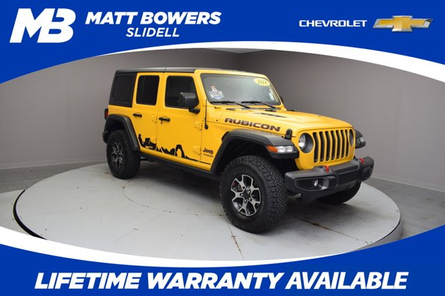 Used 2018 Jeep Wrangler Unlimited in New Orleans, and Slidell, LA
