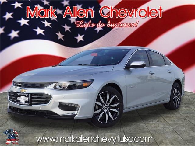 New 2018 Chevrolet Malibu in Glenpool, OK
