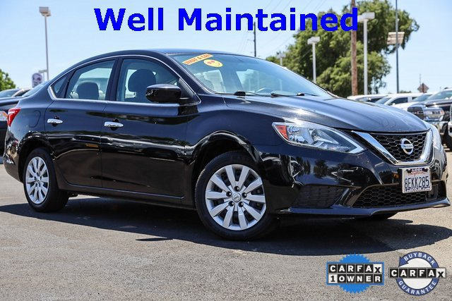2018 Nissan Sentra S S CVT Regular Unleaded I-4 1.8 L/110 [7]