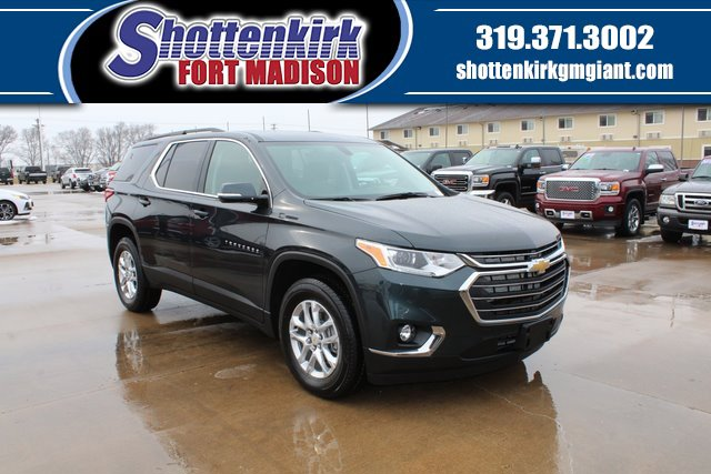 New 2020 Chevrolet Traverse in Fort Madison, IA
