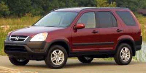 Used 2002 Honda CR-V 4WD EX Auto