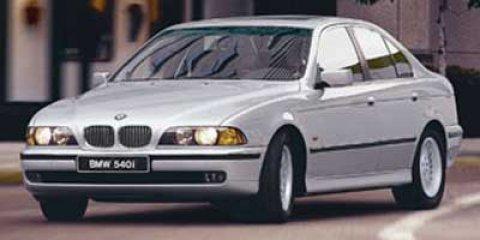 Used 1997 BMW 5 Series 540IA 4dr Sdn 5-Spd Auto