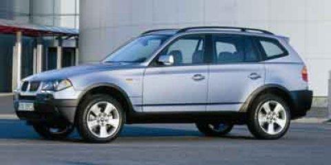 Used 2004 BMW X3 X3 4dr AWD 2.5i
