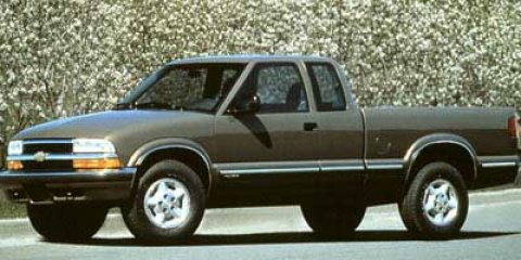 Used 1998 Chevrolet S-10 Ext Cab 123 WB LS
