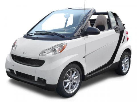 Used 2009 Smart fortwo 2dr Cabriolet Passion