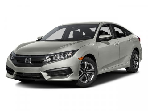 Used 2016 Honda Civic Sedan 4dr CVT LX