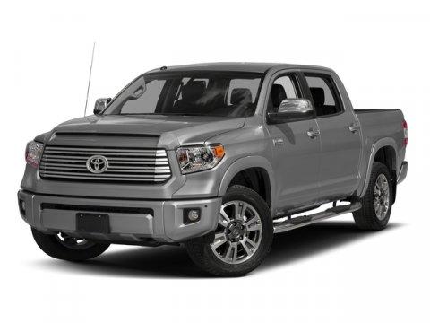 New 2017 Toyota Tundra 2WD Platinum CrewMax 5.5' Bed 5.7L
