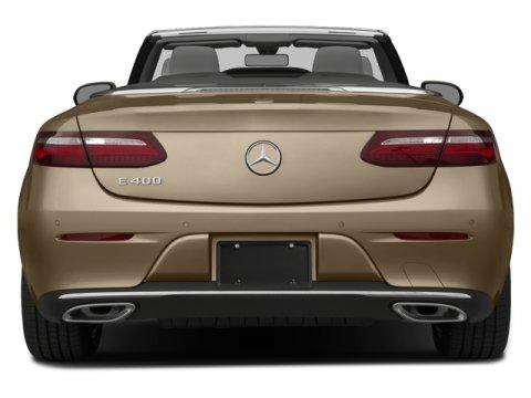 New 2018 Mercedes-Benz E-Class E 400 4MATIC Cabriolet