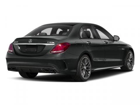 New 2018 Mercedes-Benz C-Class AMG C 63 S Sedan